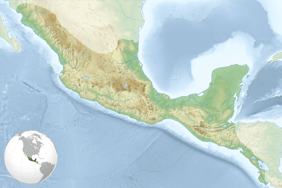 Mesoamerica Map