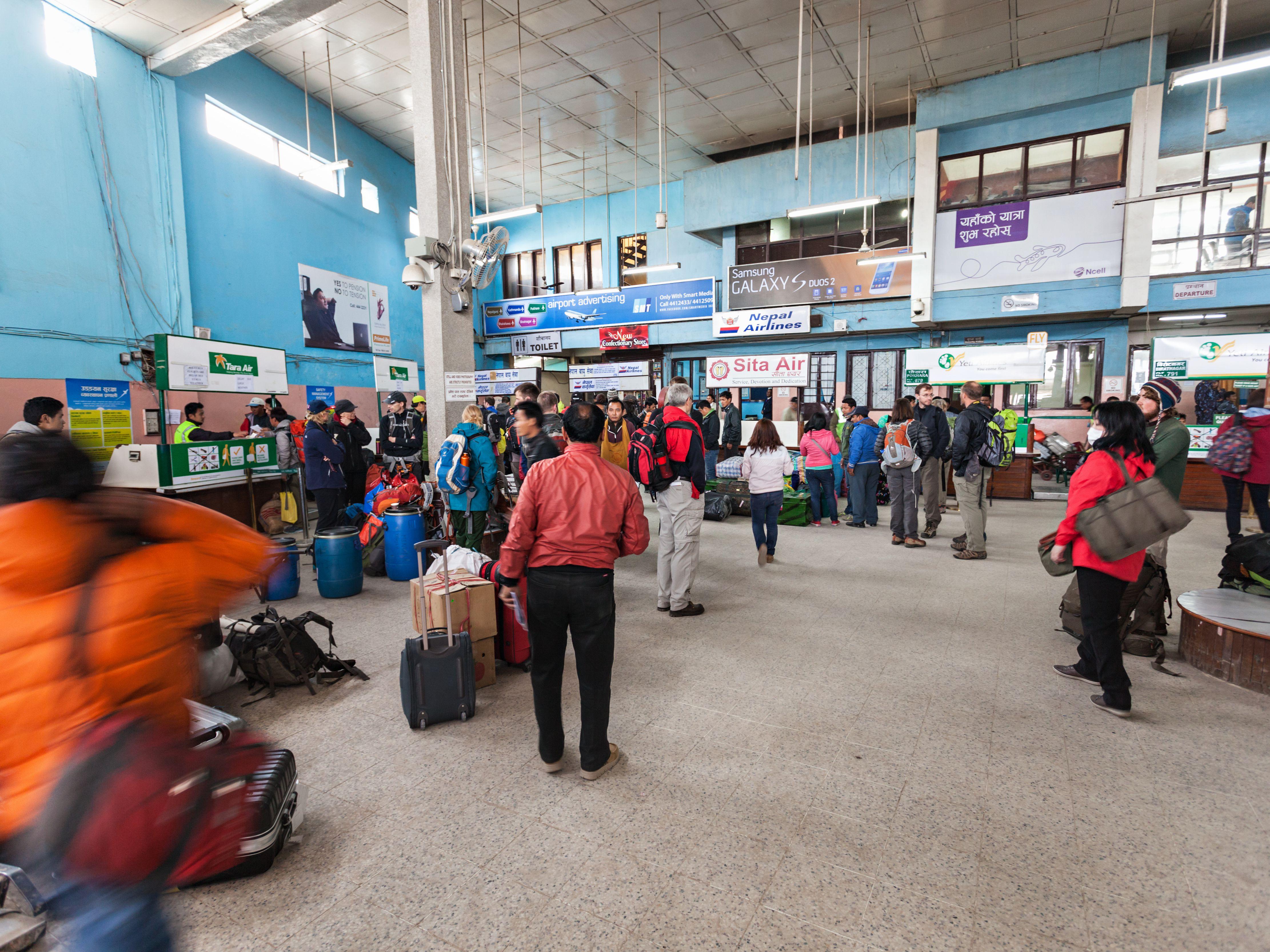 Arriving in Kathmandu: An Airport Survival Guide