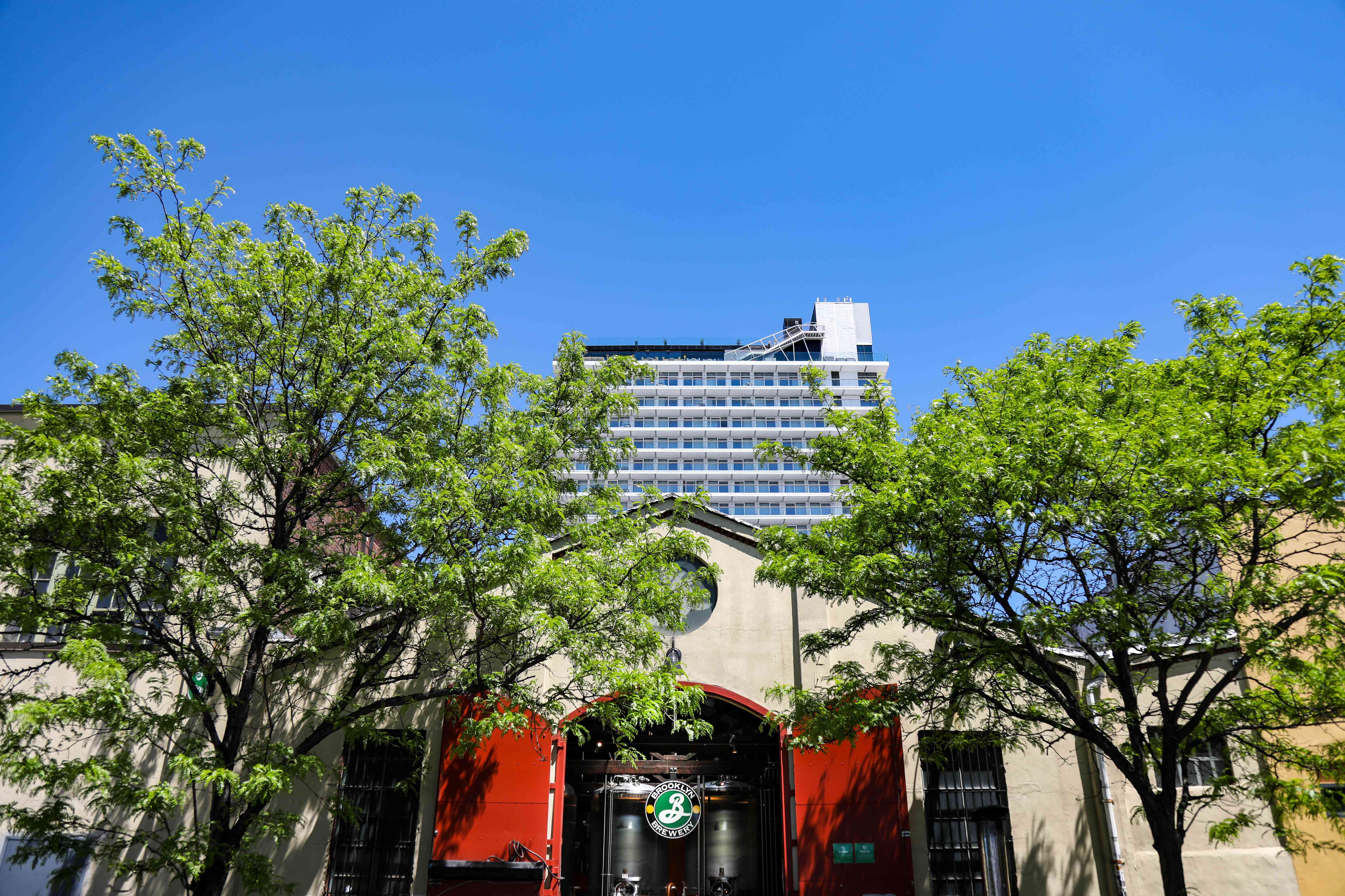 Exterior of the Brooklyn Brewery