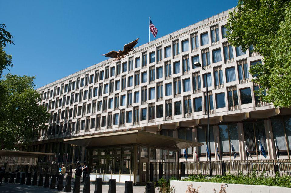 US Embassy in London