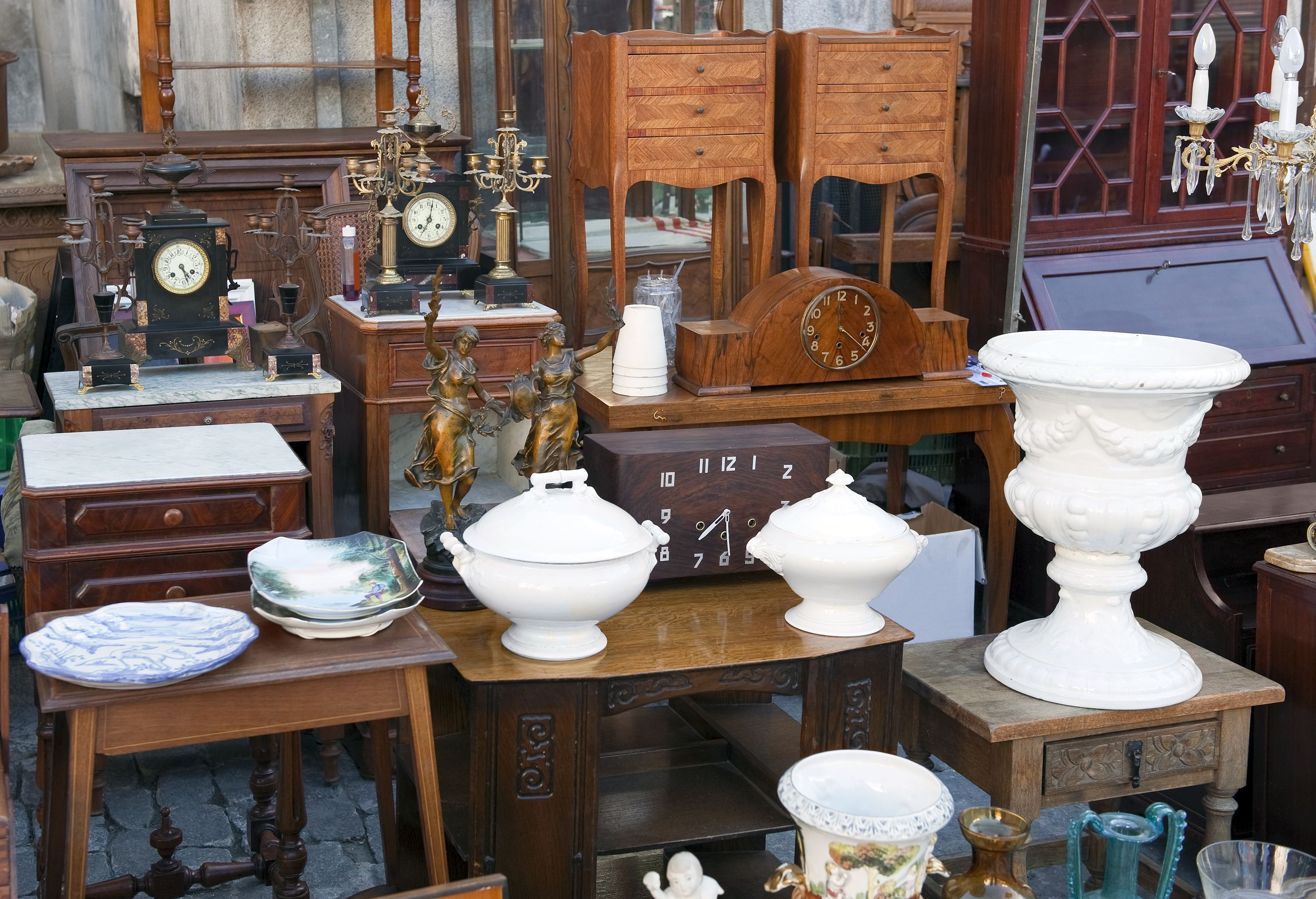 Antiques in store