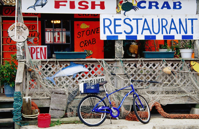 Fish restaurant in Port Aransas.