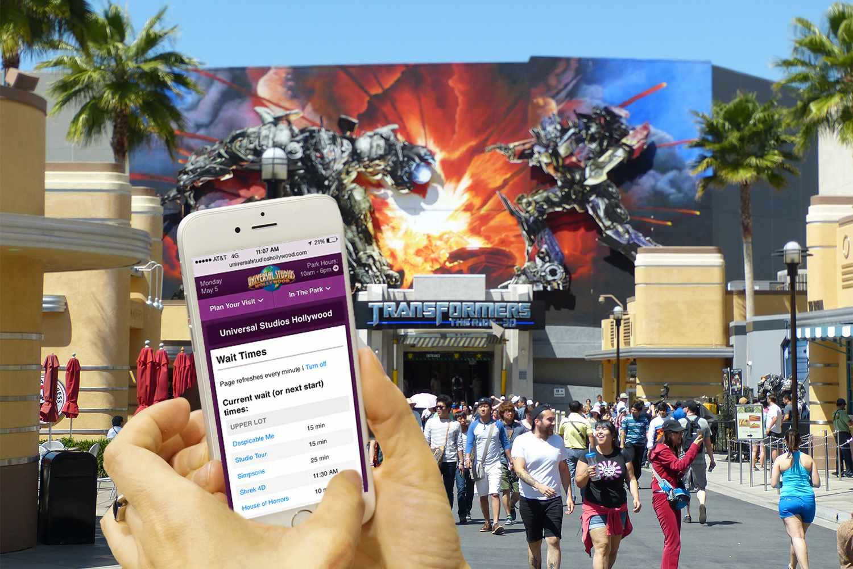 Universal's Mobile App