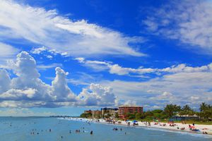 Usa, Florida, Fort Myers Beach.