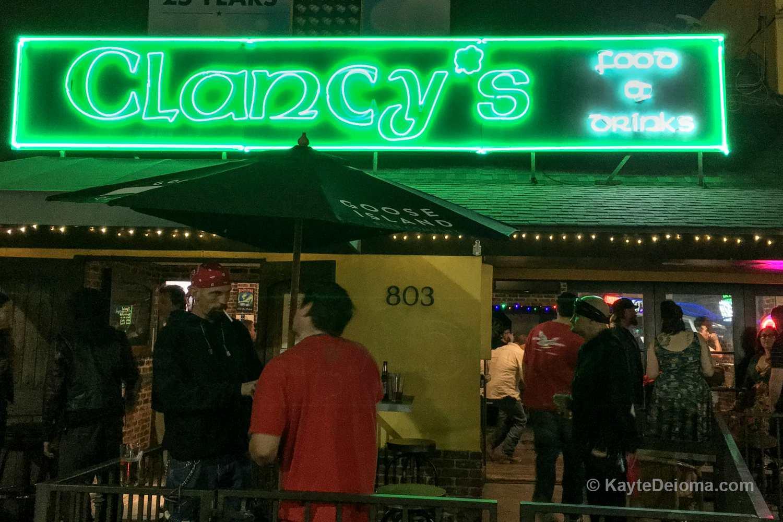 Clancy's in Long Beach, CA