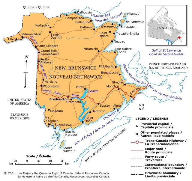 map courtesy of natural resources canada