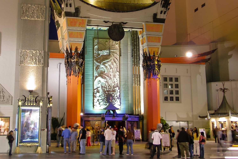 Teatro chino de Grauman en la noche