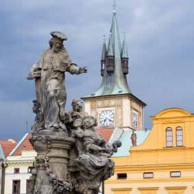 San Ivo en el Puente de Carlos Praga