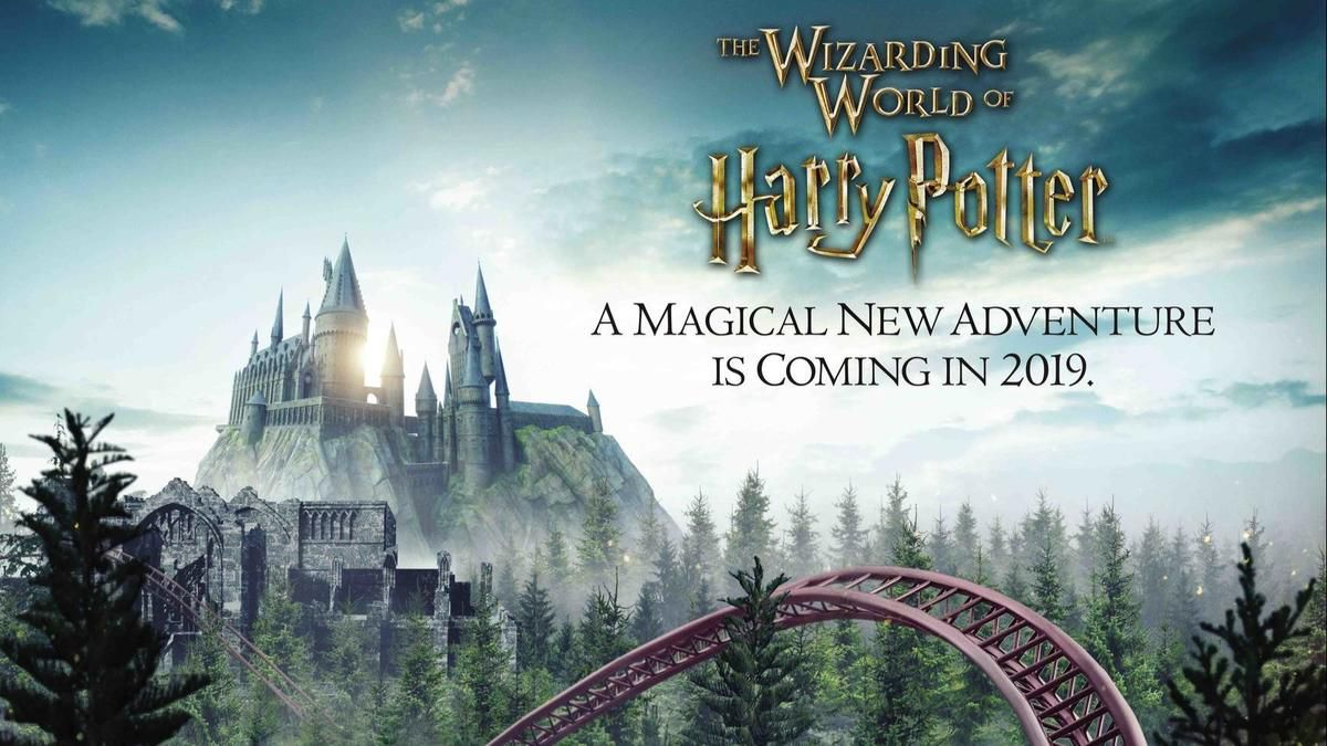 2019 Potter Bahn in Universal Orlando
