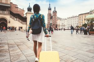 Solo traveler in Krakow
