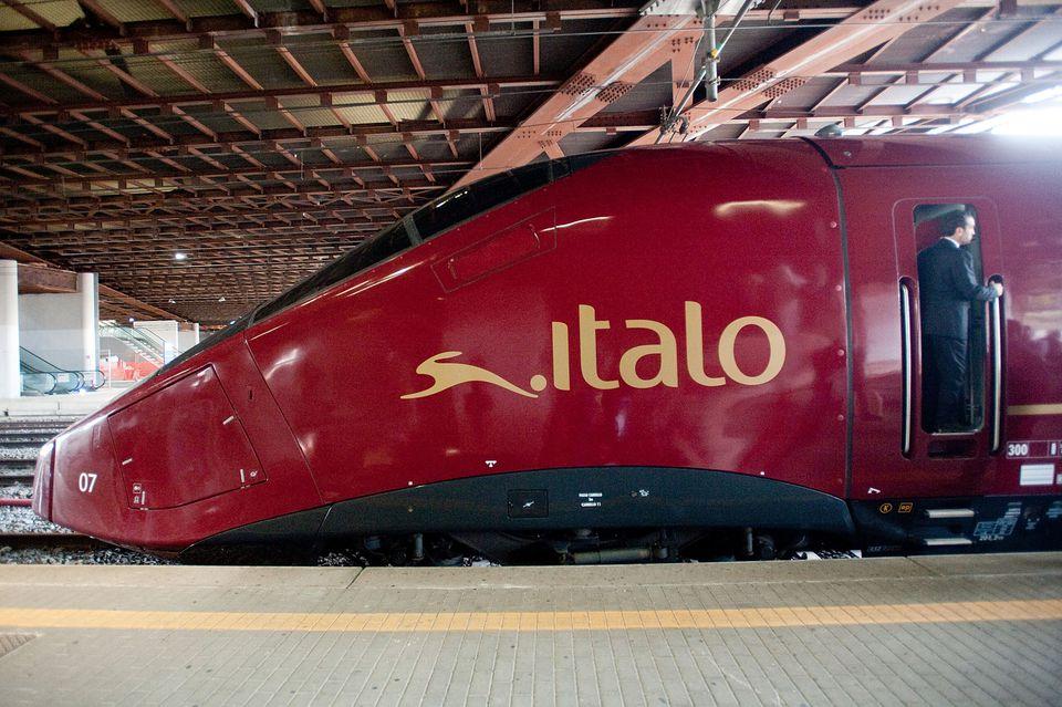 Italo train car