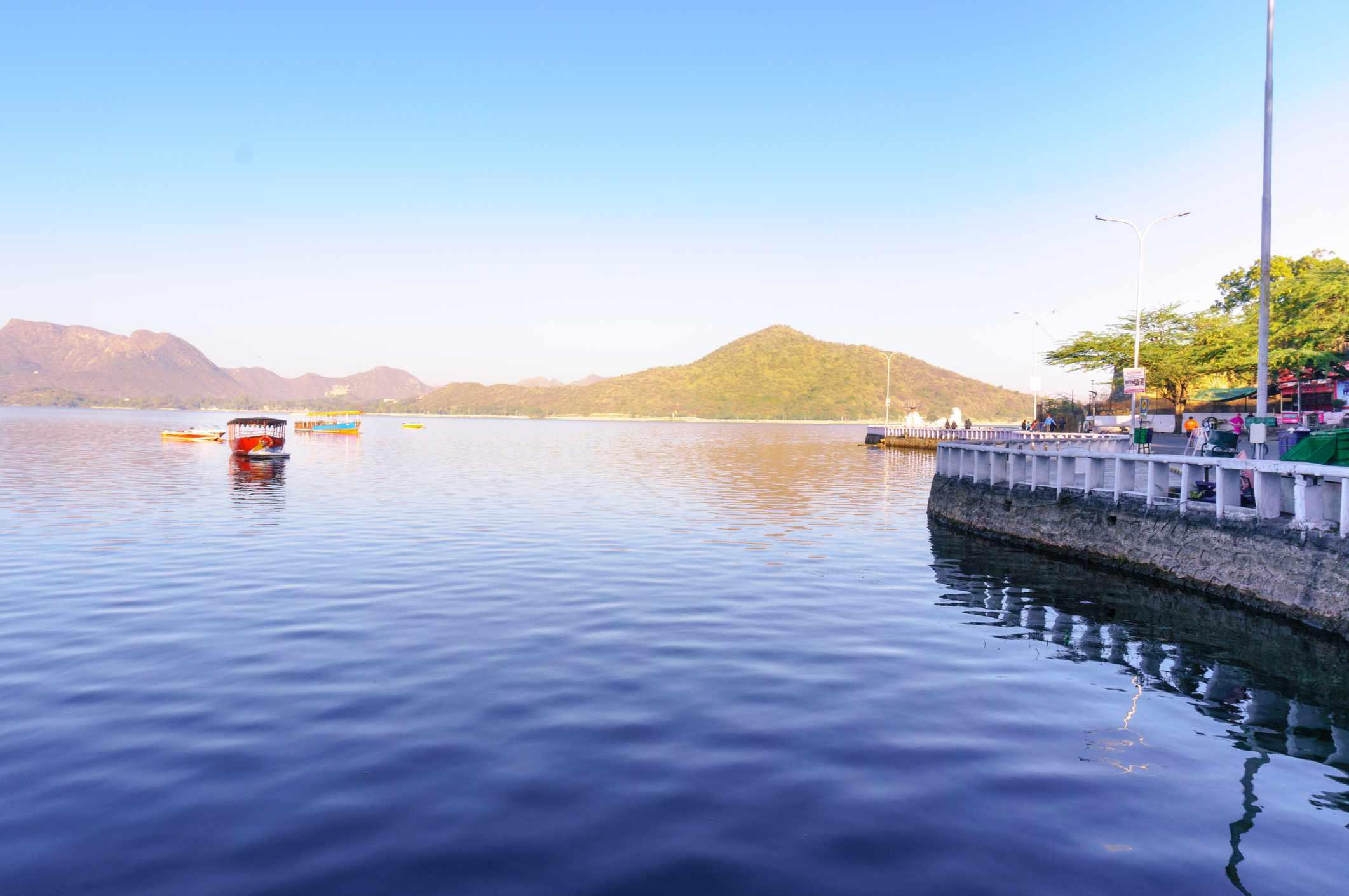 Fateh Sagar Lake, Udaipur.