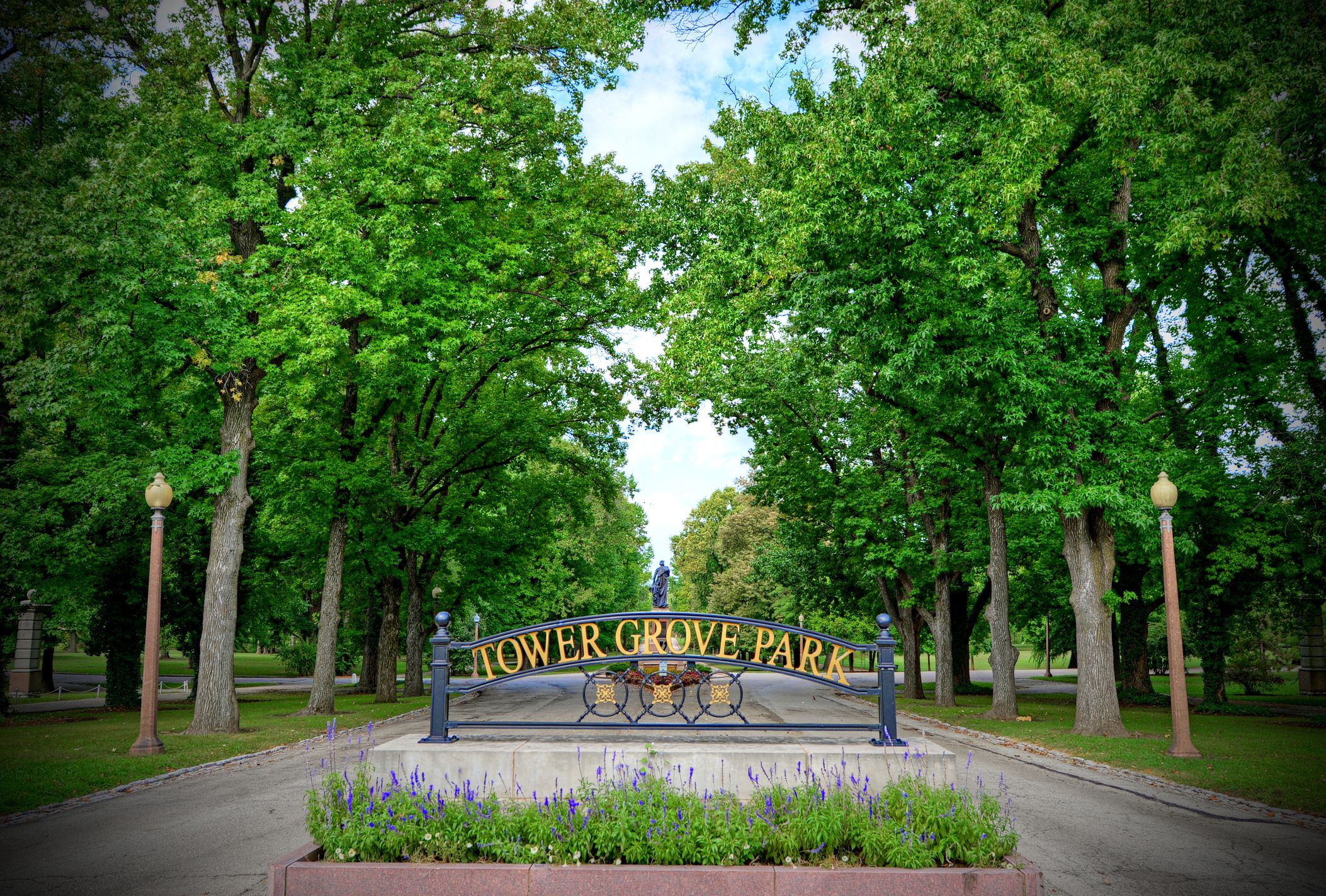 Tower Grove Park in St. Louis, Missouri