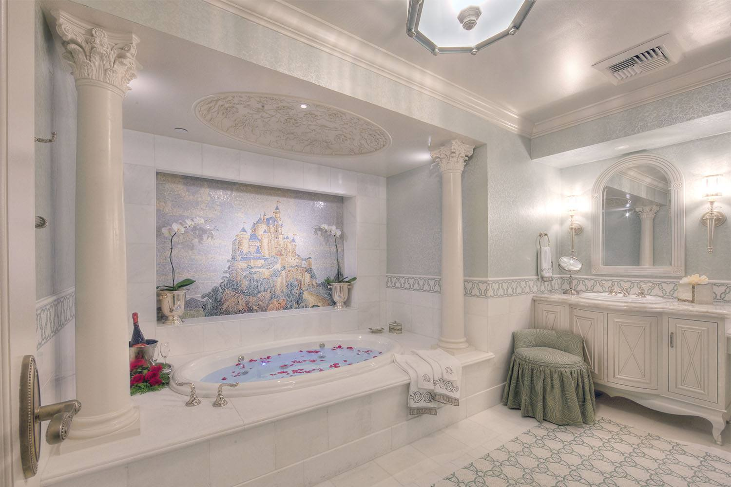 The Fairy Tale Suite en el Disneyland Hotel