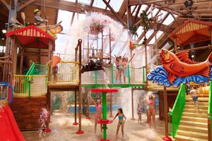 Great Escape Lodge with indoor water park