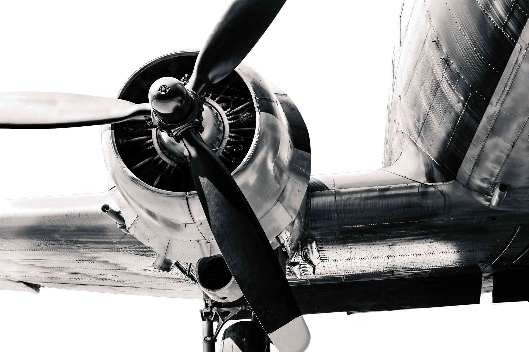 World War II airplane