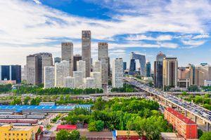 Beijing skyline in August