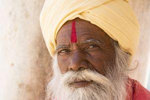 Sadhu Holy Man in India