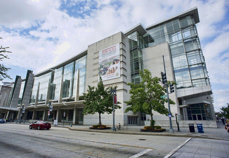 Washington DC.Convention Center Building