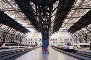Train Station of Estacio de Franca, Barcelona