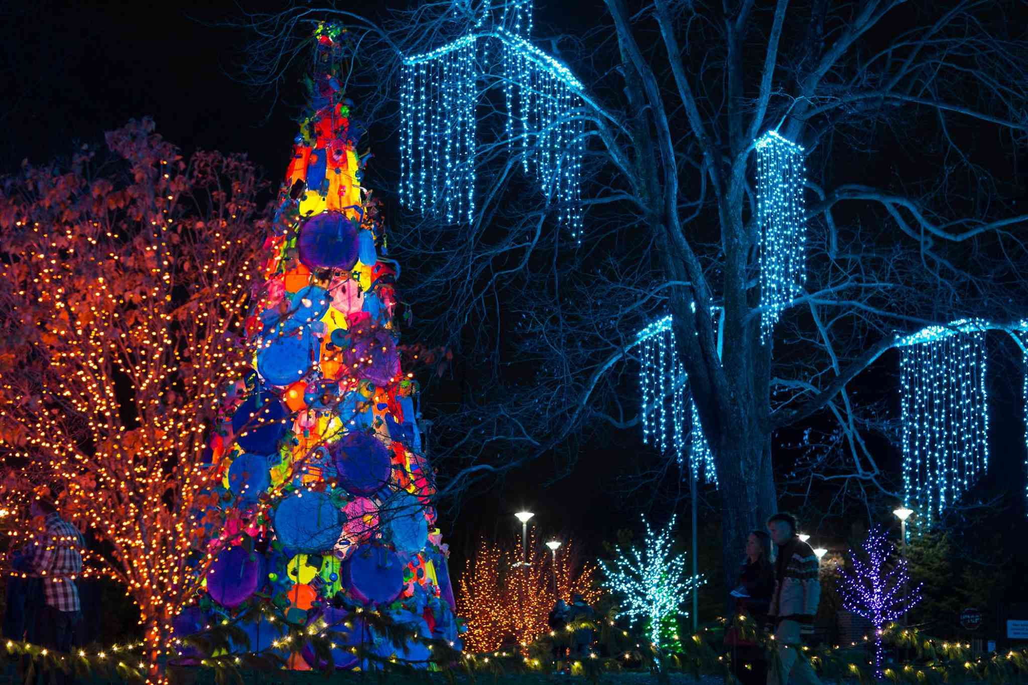 Winterlights at Newfields