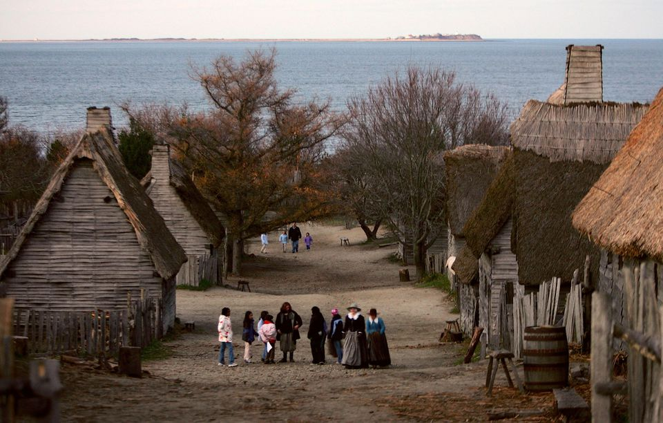 Plymouth Plantation Recreates World Of The Pilgrims