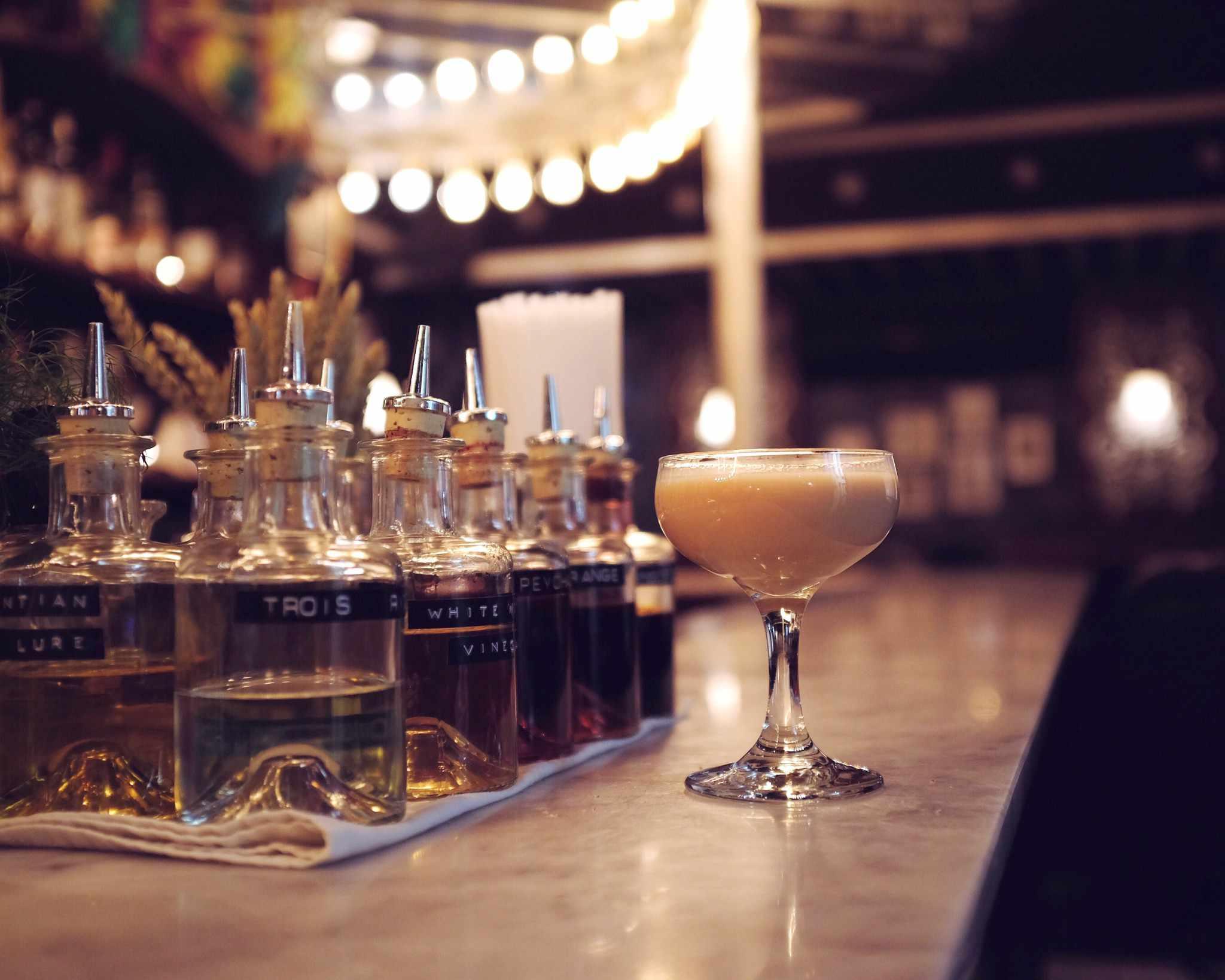 Cocktails at Lulu White, Paris