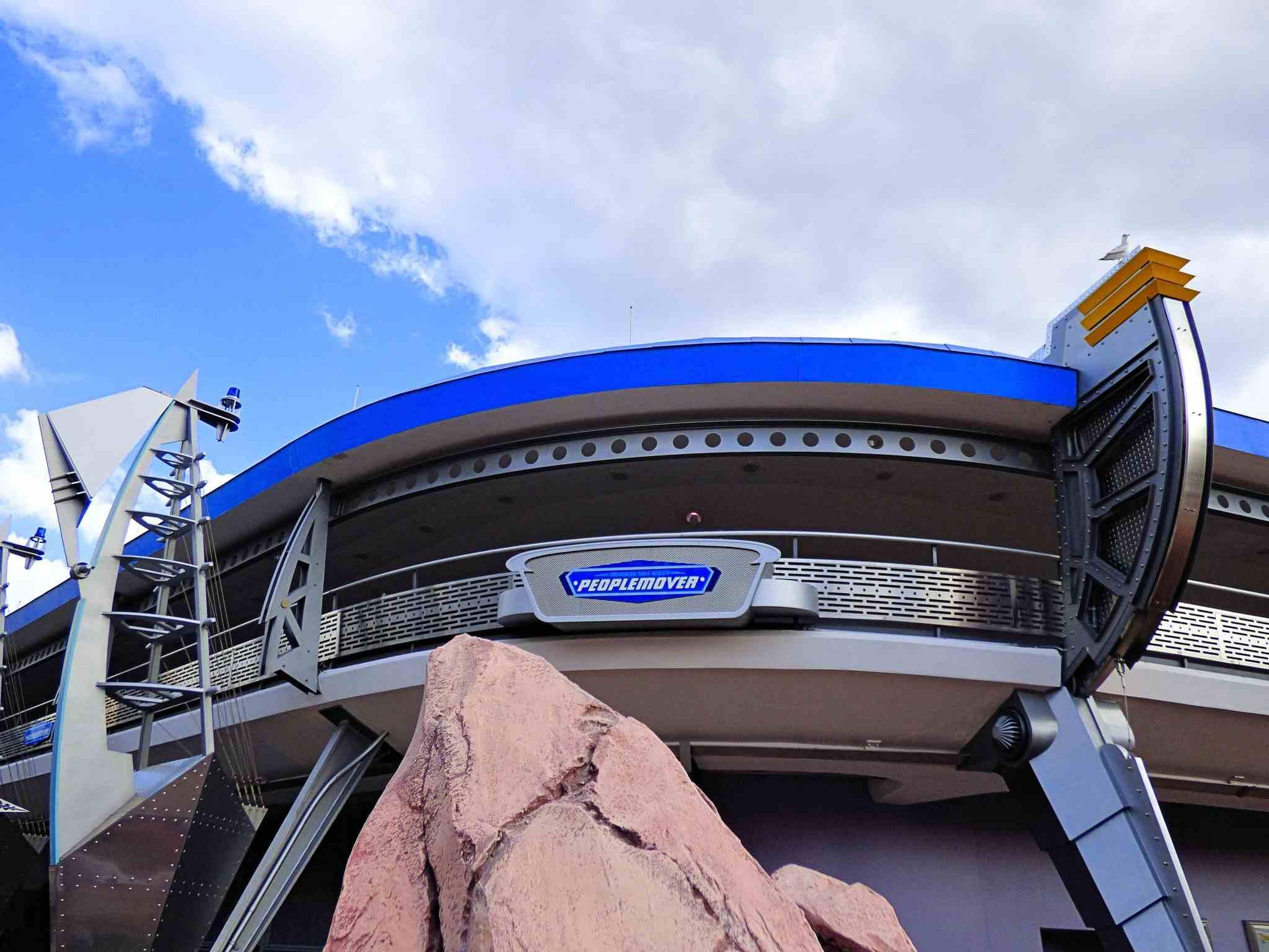 The Tomorrowland Transit Authority People Mover, Walt Disney World