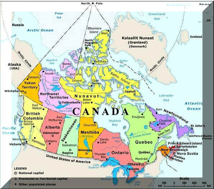 Canada State Map Plan Your Trip With These 20 Maps of Canada