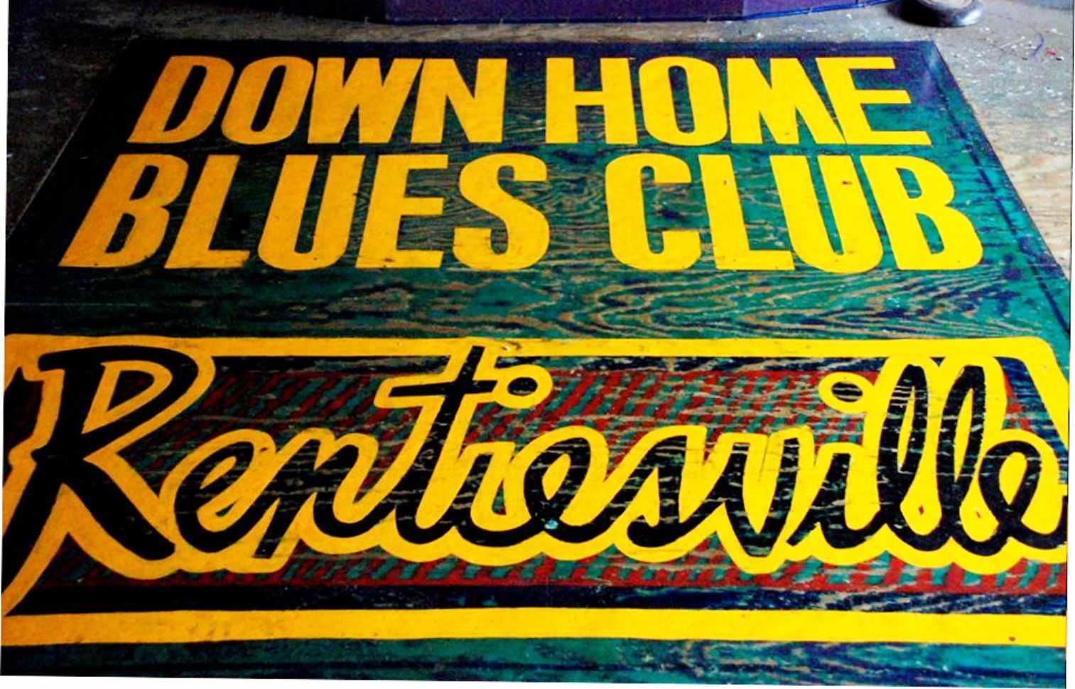 Down Home Blues Club in Rentiesville, OK