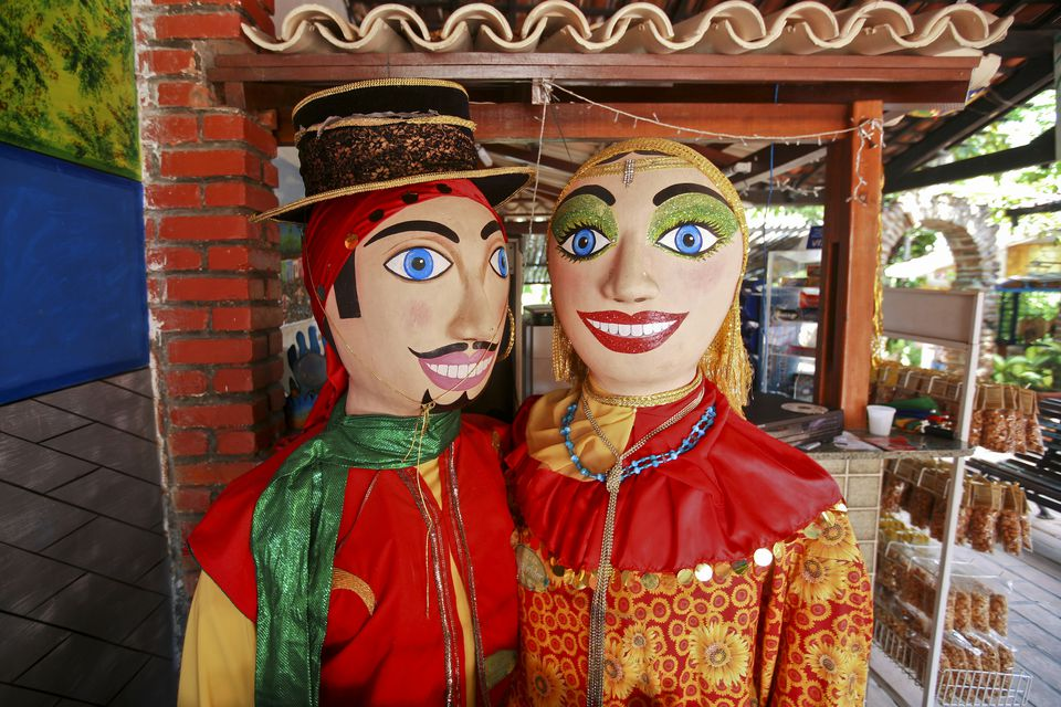 The giant dolls of Olinda's Carnival.