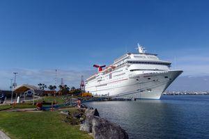 Cruise ship in Ensenada, Baja California