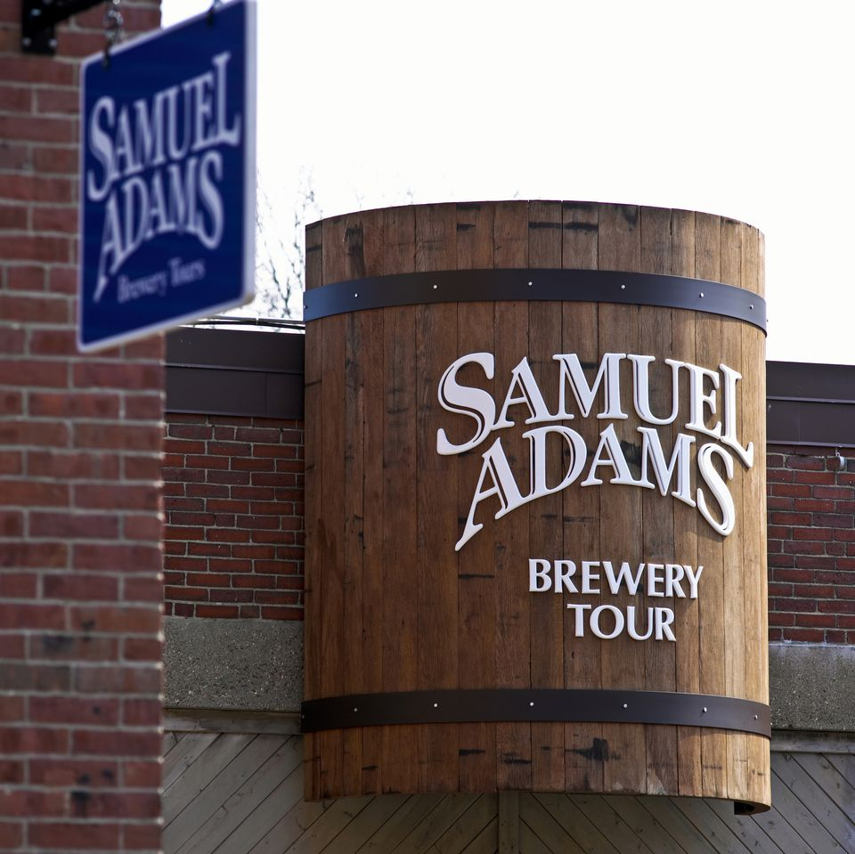 Samuel Adams Brewery Tour Boston