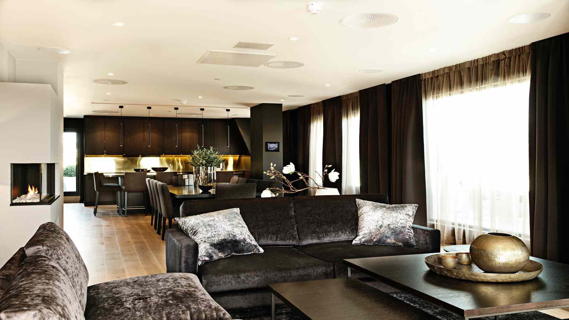 Interior of Saga Hotel Oslo