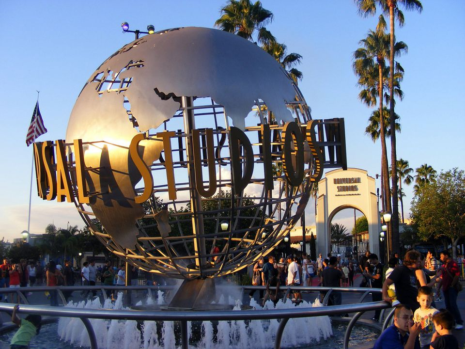 Universal Los Angeles entrance