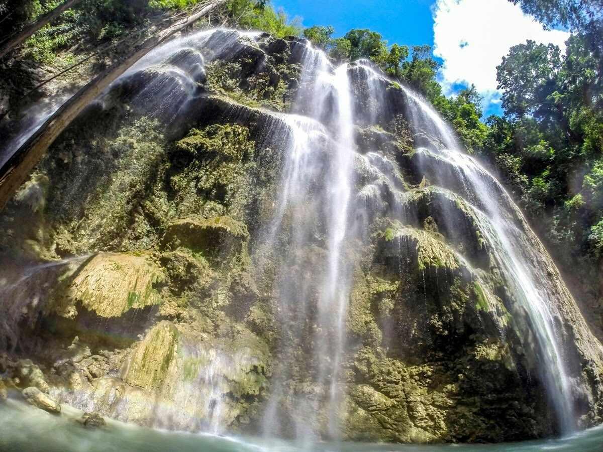 Low Angle View Of Tumalog Falls