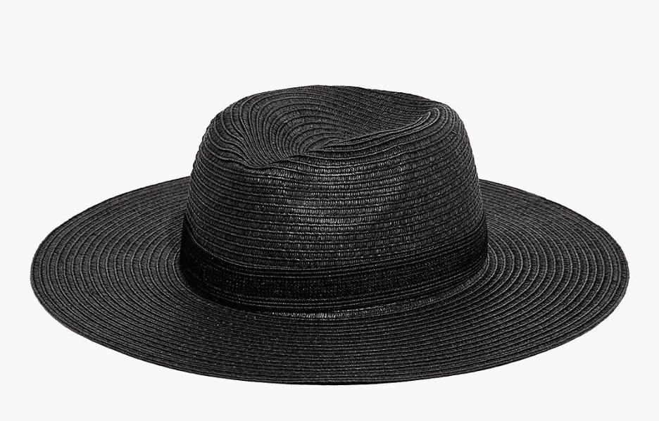 Sombrero de paja Madewell Packable Mesa