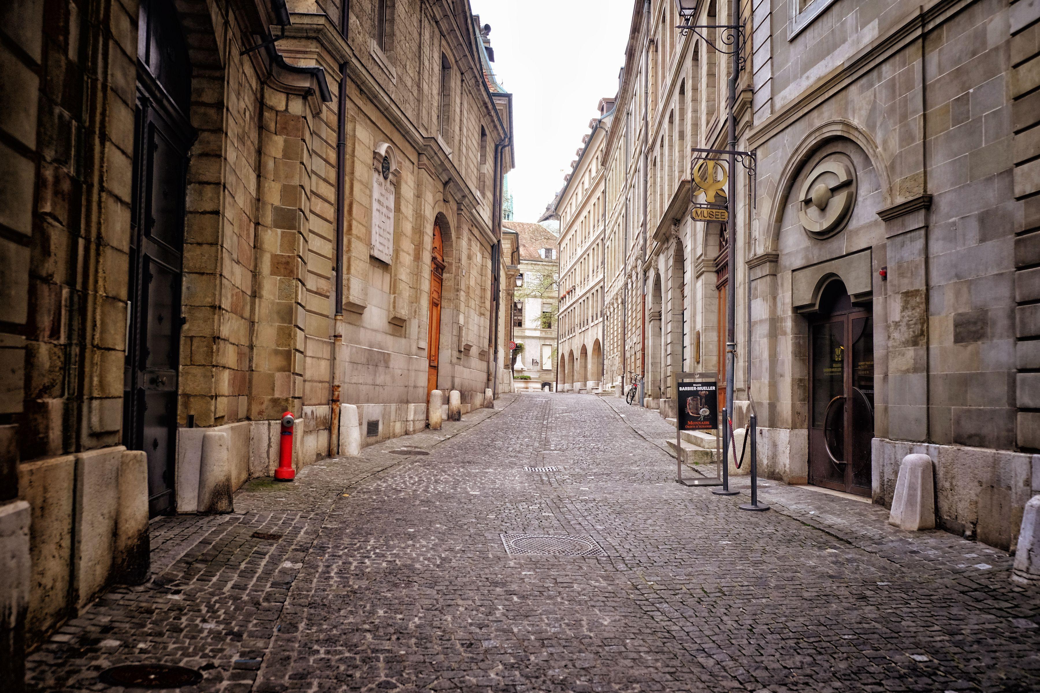 Old Town Geneva, Switzerland