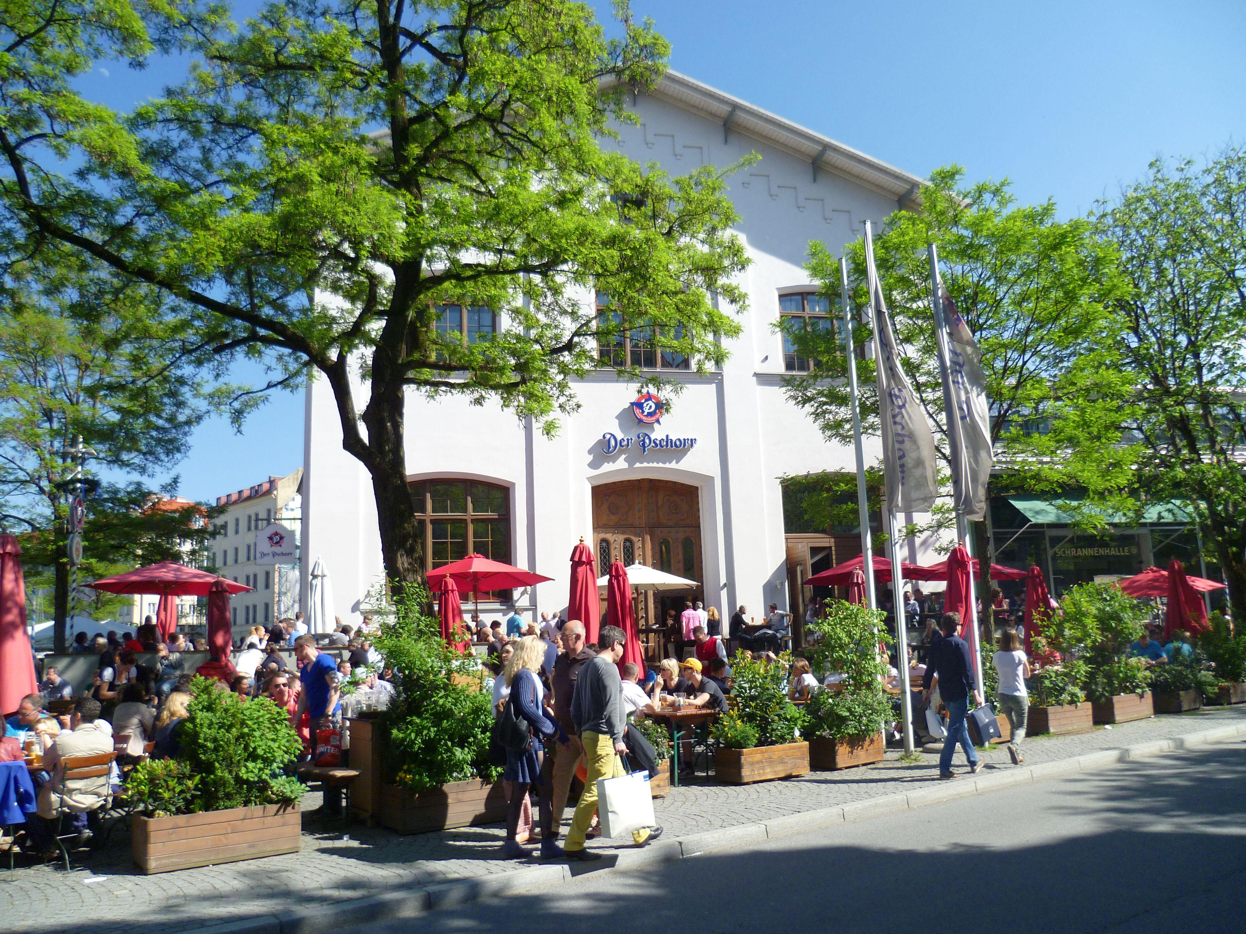 Der Pschorr Brauhaus in Munich