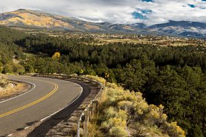 Hi Road to Taos, New Mexico, National Scenic Byway, Truchas, New Mexico