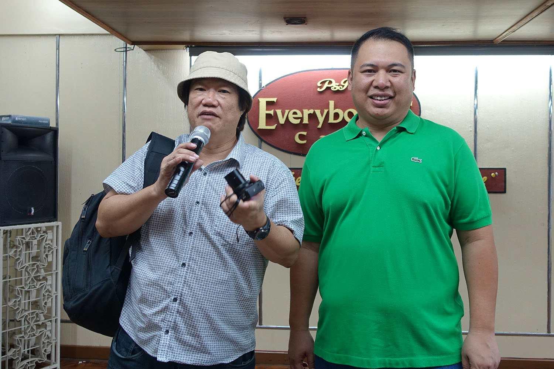 KF Seetoh and Everybody's Cafe proprietor Poch Jorolan