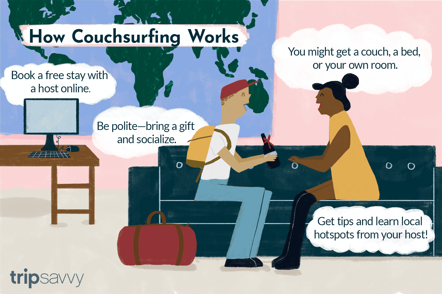 What Is Couchsurfing? Important Safety Tips and Advice
