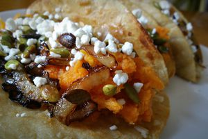 Sweet potato taco