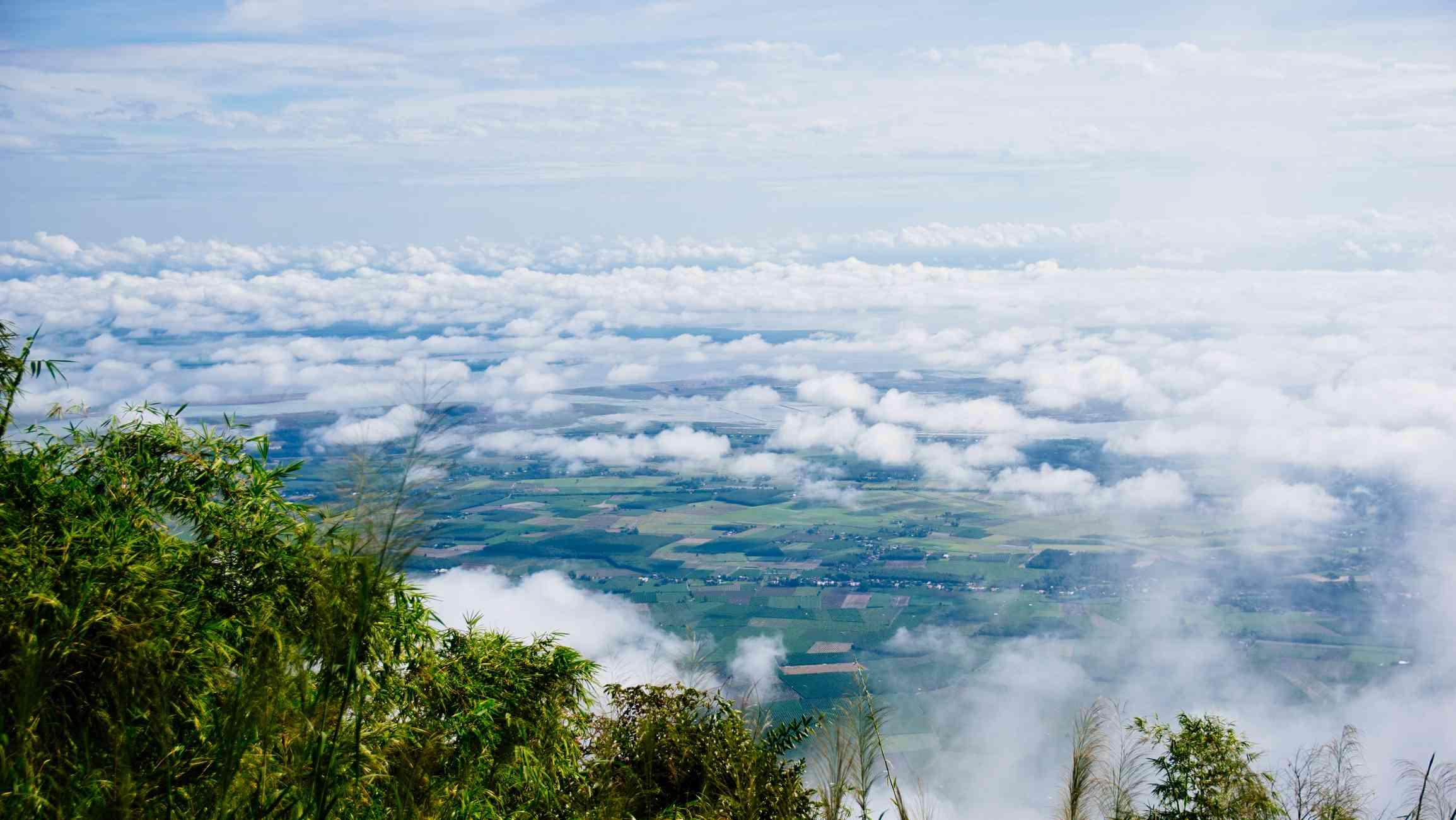 View from Black Virgin Mountain, Vietnam