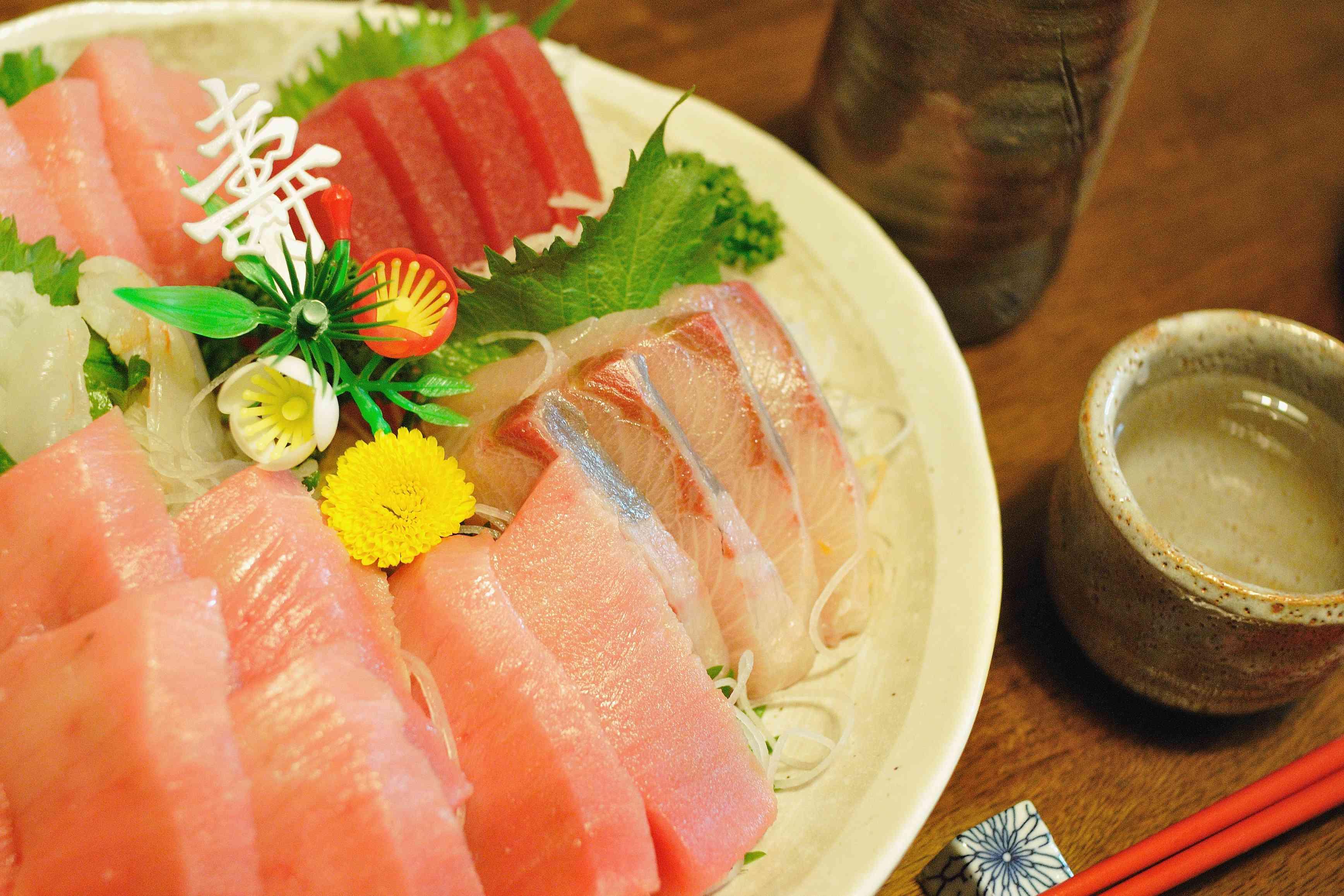sashimi sake osaka