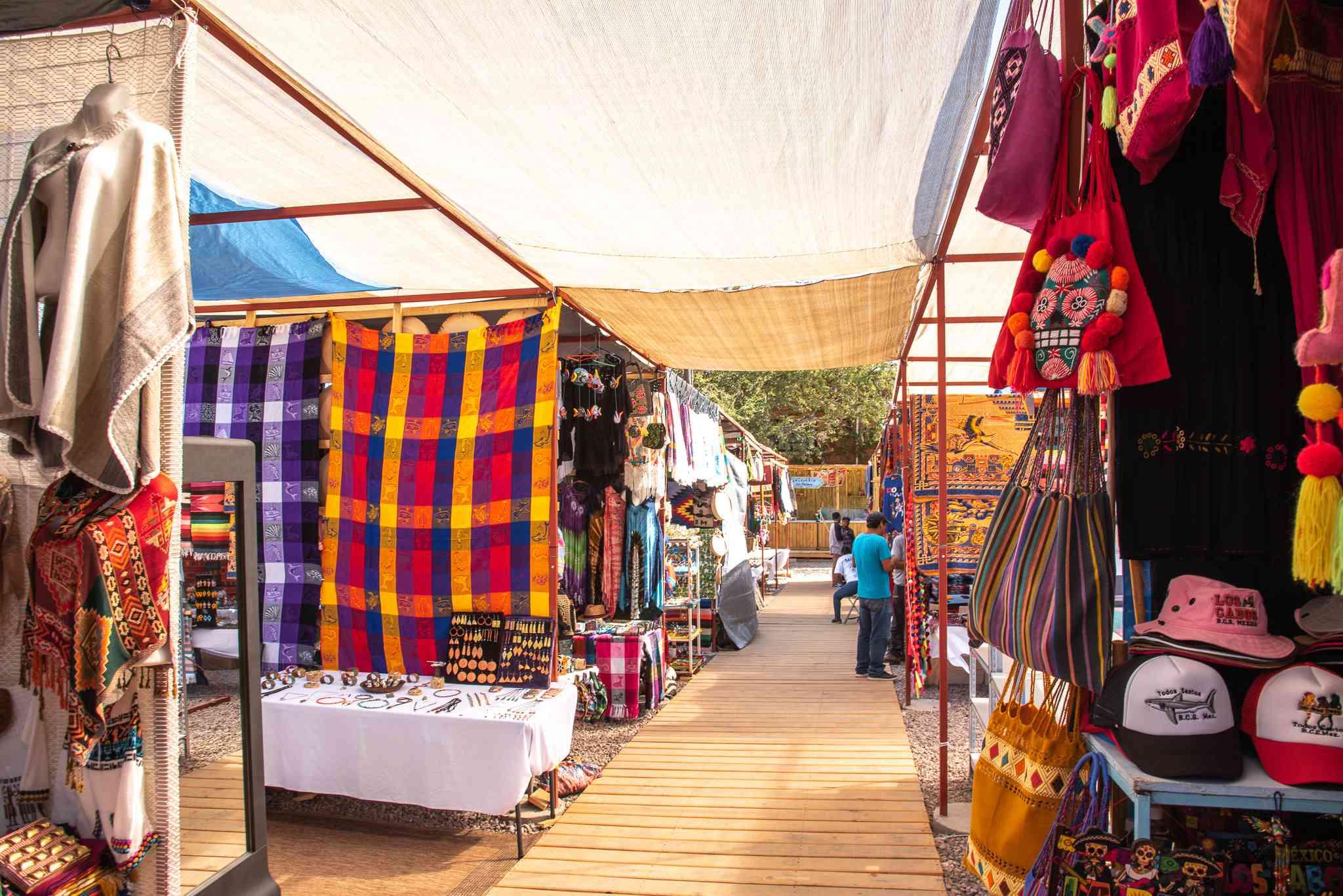 Market in Todos Santos