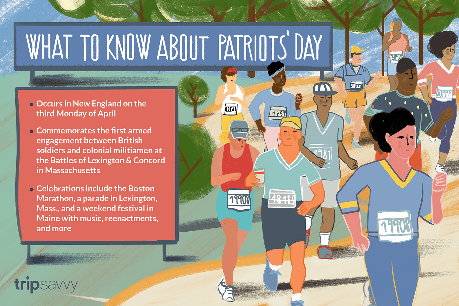 New England Marathons 2020 When is Patriots' Day? Date & Events for 2019 & Beyond