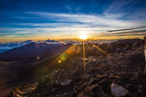 Haleakalā national park sunrise Hawaii