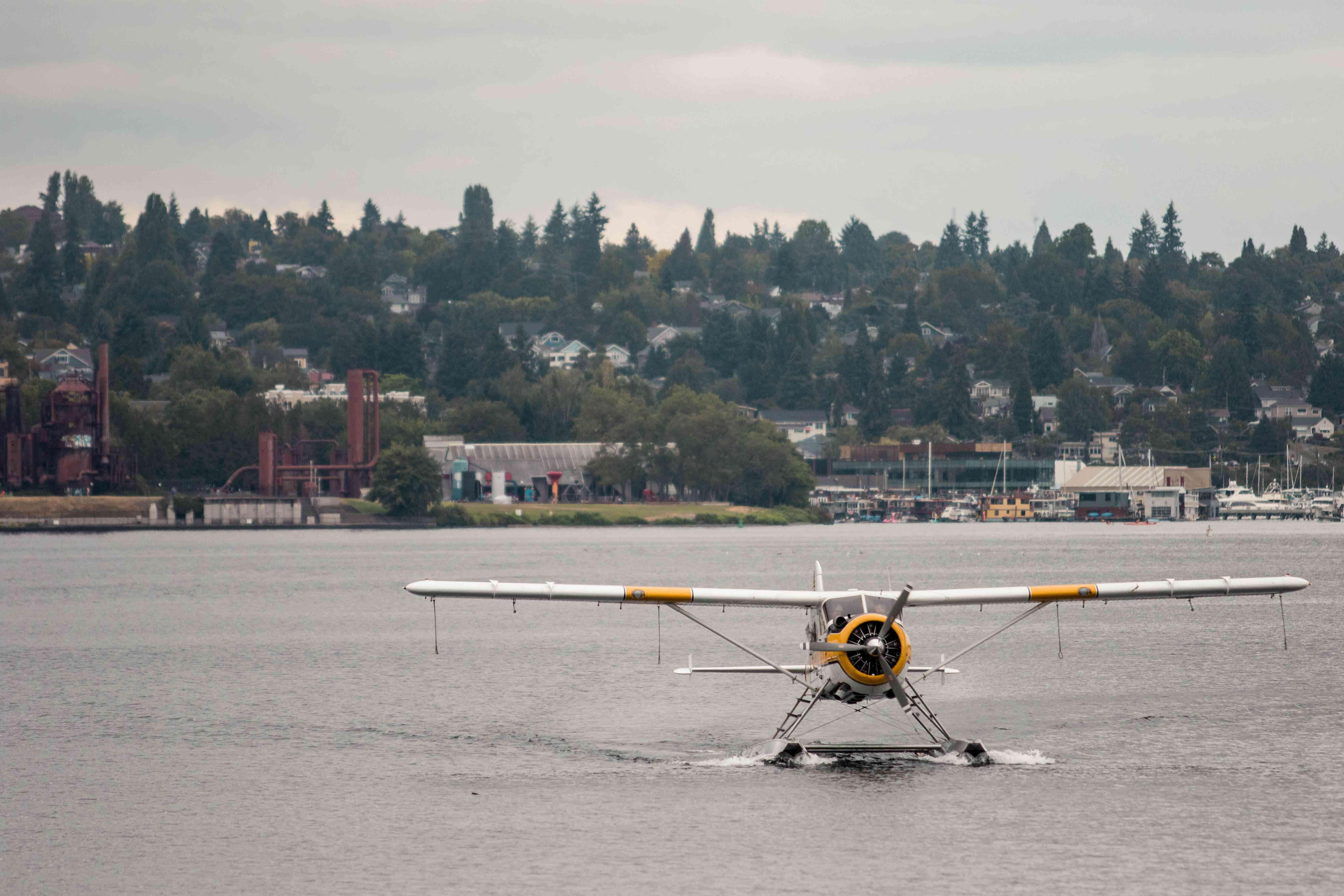 Kenmore Air seaplane in Seattle, Washington