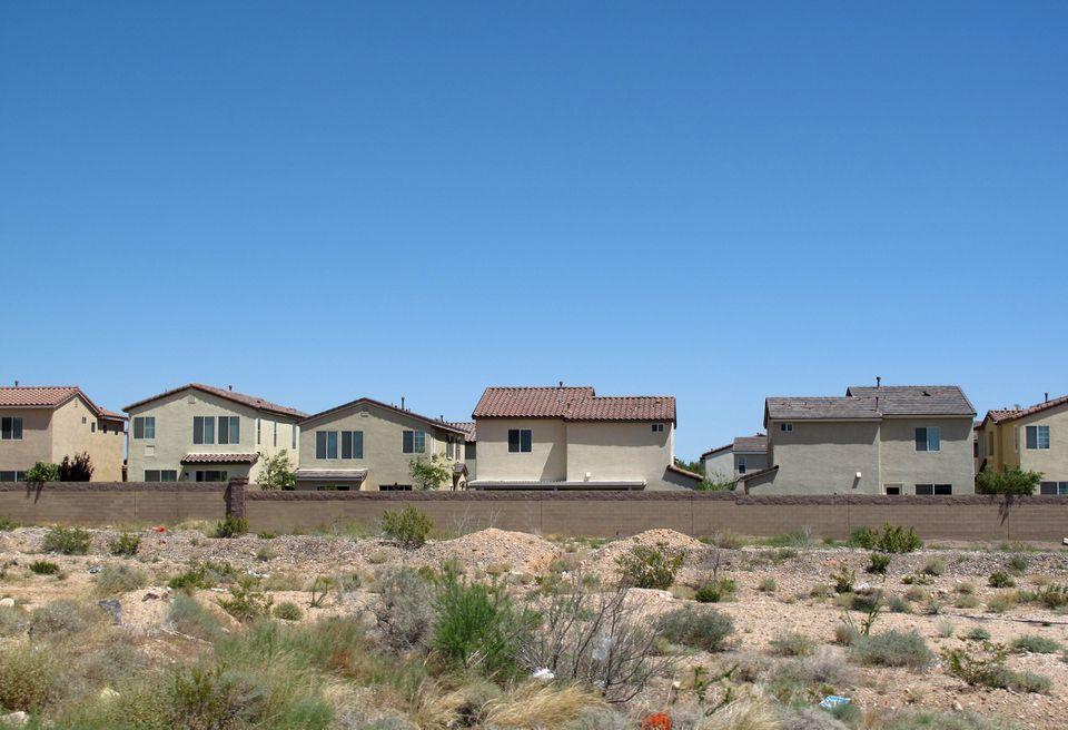 Affordable single-family houses developments near Las Vegas, Nevada